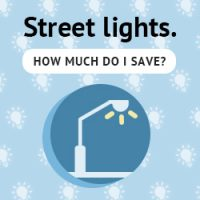 LED Street Light Energy Savings Calculator