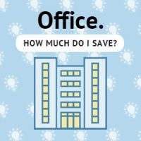 Business & Office Energy Savings - LED Lighting Calculator