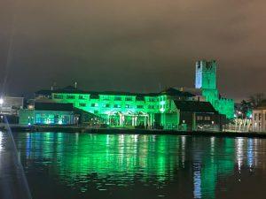 St Patricks Day Lighting